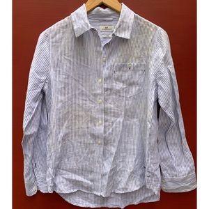 Vineyard Vines Top - Casual Linen Shirt